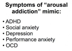 symptoms of arousal addiction mimic